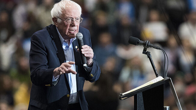 Bernie Sanders Holds New Hampshire Campaign Events