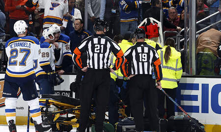 image for NHL Game Called Off After Player Suffers Cardiac Episode On Bench