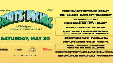 image for Roots Picnic @ The Mann at Fairmount Park - May 30th