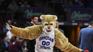 image for Watch BYU's Mascot Fly 22 Feet Into the Air and Nail a Slam Dunk (Video)