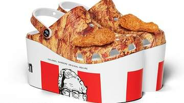 image for KFC Made Crocs That Look Just Like A Bucket Of Fried Chicken