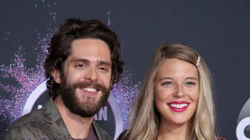 image for Thomas Rhett says the baby is here!