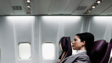 image for A Woman Says a Guy Behind Her on a Plane Who Kept Punching Her Seat