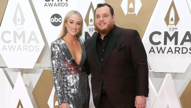 Luke Combs Shares Heartfelt Valentine's Day Post To Fiancée Nicole Hocking