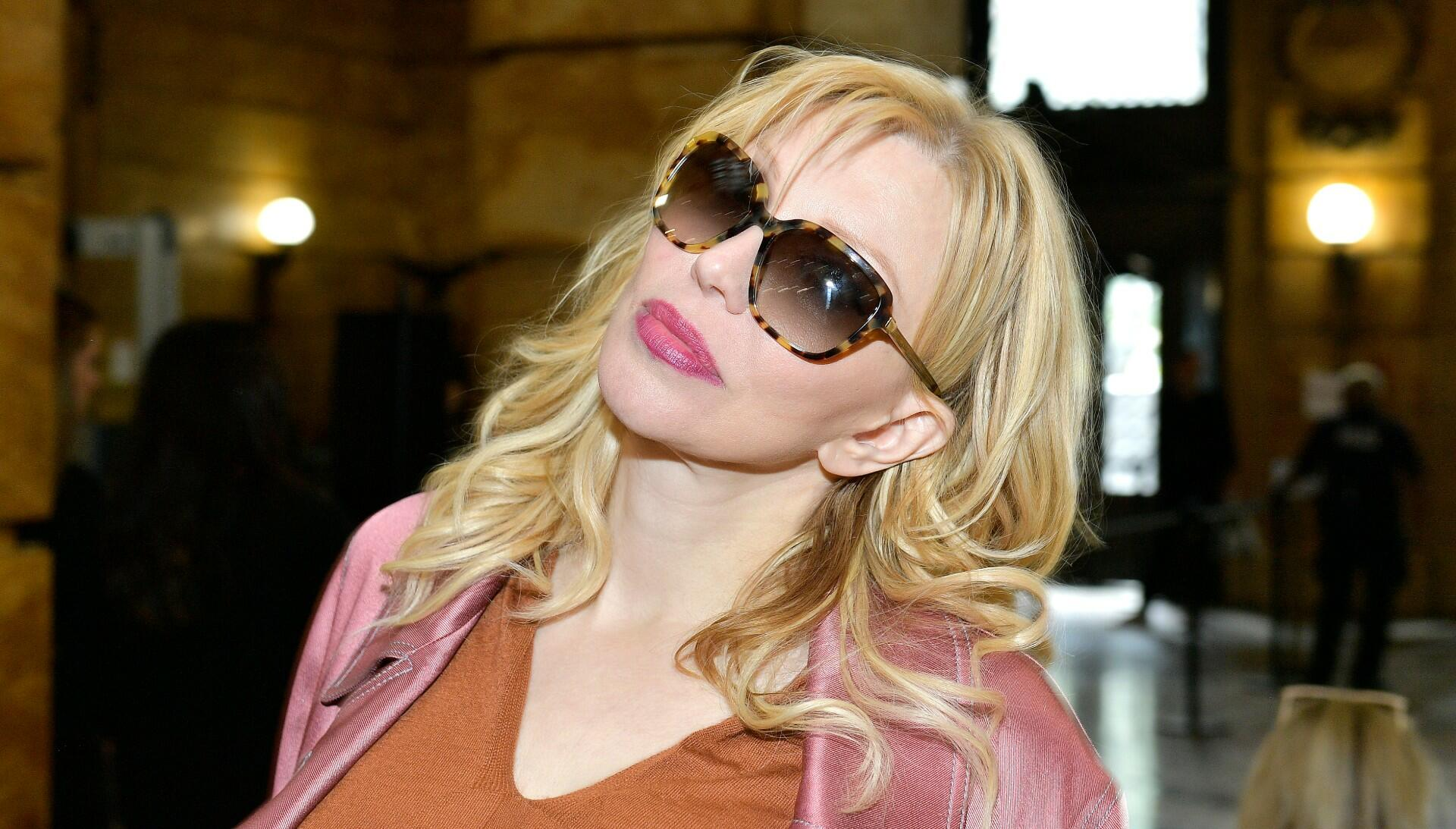 Courtney Love Claims To Be 18 Months Sober