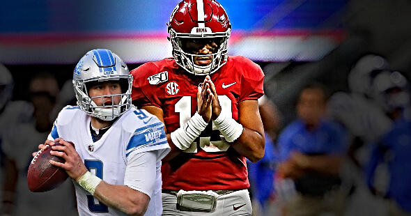 Rob Parker: Lions Needs to Trade Matthew Stafford and Draft Tua Tagovailoa | The Herd with Colin Cowherd | FOX Sports Radio