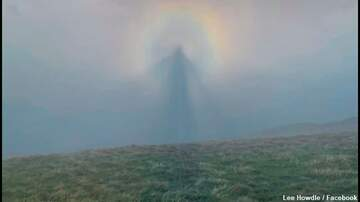 image for Video: 'Angelic' Weather Phenomenon Photographed in England
