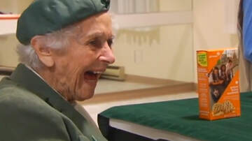image for 98-Year-Old Girl Scout Has Been Selling Cookies Since She Was Ten