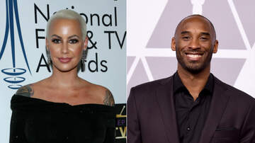 image for Amber Rose Explains How Kobe Bryant Inspired Her Massive Face Tattoo