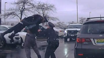 image for Video Shows College Football Player Body-Slamming Ohio Police Officer