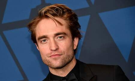 image for FIRST LOOK: See Robert Pattinson In 'The Batman' Suit