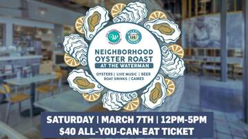 image for The Waterman's First Annual Neighborhood Oyster Roast