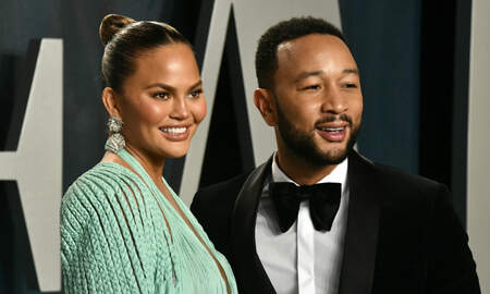 image for John Legend Shares Valentine's Day Tribute To Chrissy Teigen 'Unique Feet'