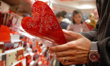 image for Loveland:  The Sweetheart city sends love around the world!