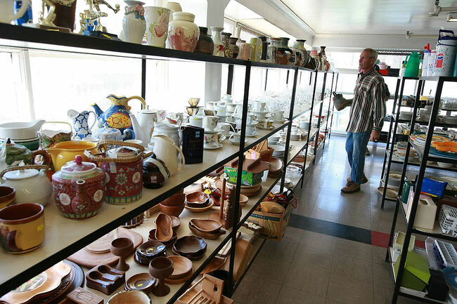 Thrift Stores See Increased Profit During Economic Downturn
