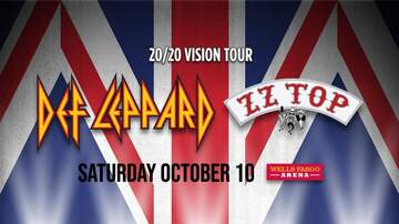 image for Def Leppard with ZZ Top, October 10th, at Wells Fargo Arena