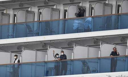 image for U.S. Evacuating Americans From Cruise Ship Quarantined Off Coast of Japan