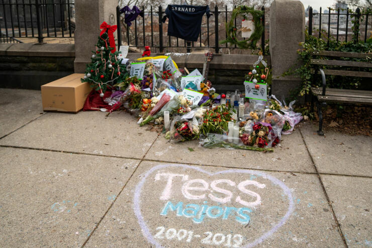 Police Detain 14-Year-Old Suspect In Stabbing Death Of Barnard College Student Tessa Majors