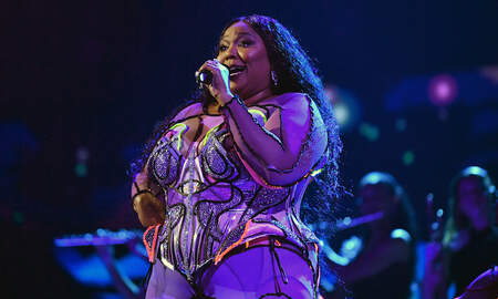 image for Lizzo Twerks In Sexy Sheer Lingerie For Valentine's Day In NSFW Video