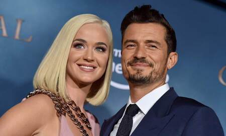image for Katy Perry Shares Photos From Romantic Engagement Anniversary Party