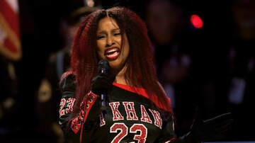 image for VIDEO: Chaka Khan and her much-discussed National Anthem last night