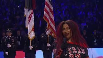 image for Chaka Khan Murders the National Anthem at the NBA All-Star Game!