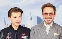 image for Imagine Robert Downey, Jr. & Tom Holland In 'Back To The Future!'