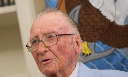 image for Donald Stratton, 1 of 3 Remaining Pearl Harbor Survivors, Dies at 97
