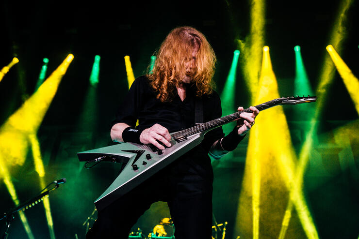 Dave Mustaine Still Unwilling To Relinquish Credit On Early Metallica Music | iHeartRadio