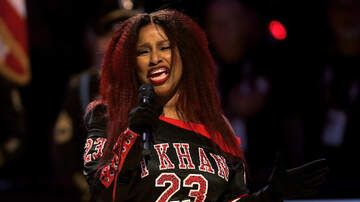 image for Chaka Khan Belts Out the National Anthem!!!