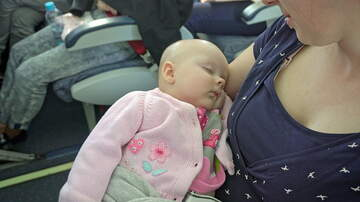 image for Make It Through Monday - Whole plane surprises new parents with baby shower