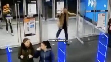 image for Guy Walks In A Store & Accidentally Breaks The Glass Doors