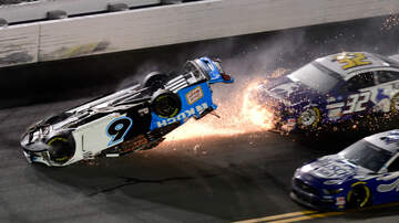 image for Ryan Newman Survives Spectacular Crash in Daytona 500