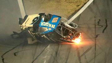 image for NASCAR's Ryan Newman Hurt In Daytona 500 Crash