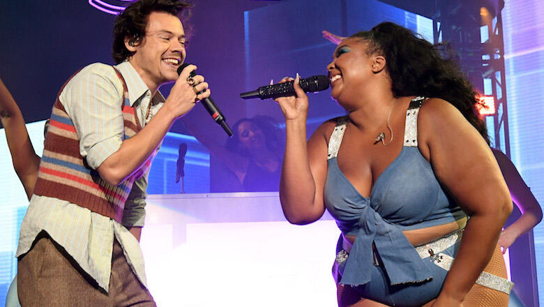 Lizzo Gives Harry Styles The Sexiest Shoutout On 'Adore You' Cover: Watch | iHeartRadio