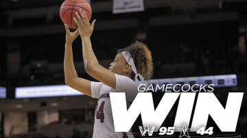 image for Gamecock Women Win Easily over Vanderbilt