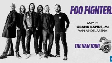 image for Foo Fighters 25Th Anniversary Van Tour