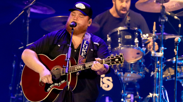 image for Luke Combs Was Moved To Tears Writing 'Even Though I'm Leaving'