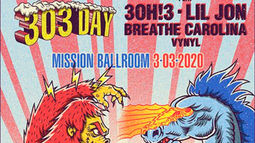 image for Channel 93.3 Presents 303 Day with 3OH!3 / Lil Jon / Breathe Carolina