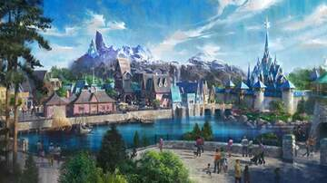 image for Disneyland Paris Opening A 'Frozen' Themed Park In 2023 With Elsa's Castle