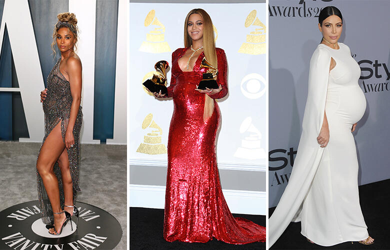 10 Celebs Who Owned The Red Carpet With Their Beautiful Baby Bumps | Kiss 108
