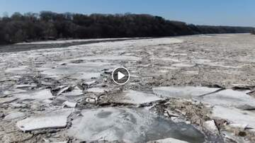 image for Platte River ice jam near Fremont VIDEO HERE