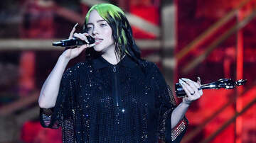 image for Billie Eilish Cries At BRIT Awards, Tearfully Admits She Felt 'Very Hated'