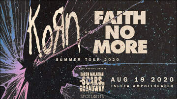 image for KORN & Faith No More
