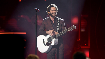 image for Thomas Rhett Shares Adorable New Photos Of Newborn Daughter, Lennon Love