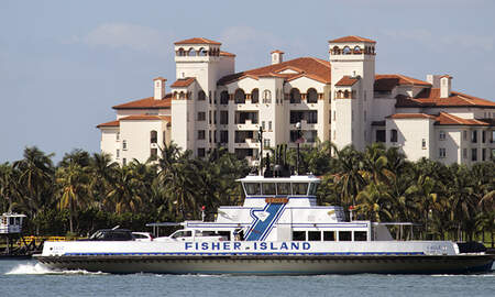 image for Two Women Die After Car Falls Off Fisher Island Ferry In Miami