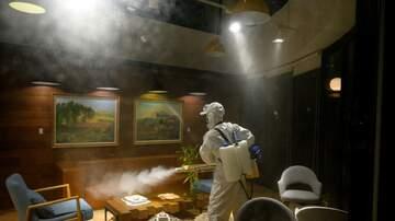 image for China Spraying Disinfectant Spray EVERYWHERE To Fight Coronavirus [Video]