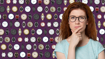 image for Can You Find The Engagement Ring Among These Watches And Clocks?