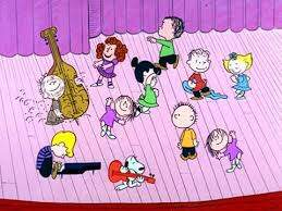 image for This is so awesome. Peanuts play Rush!