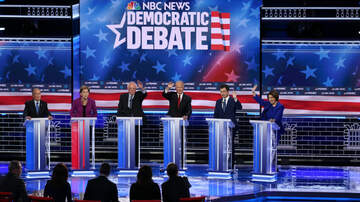 image for Democrats Make Their Case At Fiery Debate in Las Vegas